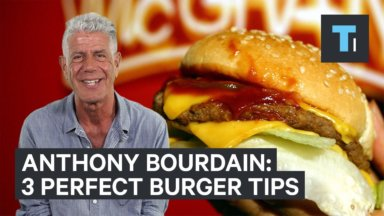 La hamburguesa perfecta por Anthony Bourdain